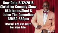 Christian Comedy Show May 12th