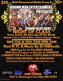 Grown Man ENT Presents 30 + Stepper Set Grown Folks Night of Class