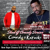Shed G's Karaoke Comedy Series With Talent
