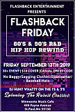 Flashback Old School Friday-The 80's & 90's R&B/HIP HOP Rewind