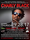 Charly Black aka Party Animal live in Concert