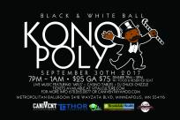 Konoply Black And White Ball
