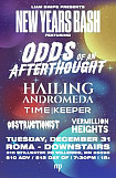 New Year's Bash!! Ft. Odds Of An Afterthought & much more!