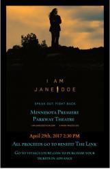 I AM JANE DOE - Minnesota Premiere