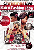 Christmas Eve Hair & Fashion Show