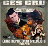 Ces Cru and G-Mo Skee: Catastrophic Event Specialists Tour 2018