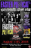 Faster Pussycat's Glitterbox Tour 2018