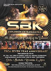 Twin Cities Salsa Explosion Salsa Vs Bachata & 7th Year AnniversaryExtravaganza