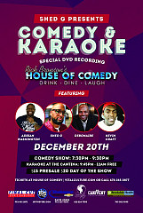Shed G Comedy Series Dec 20th