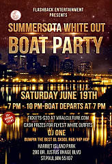 Flashback Summersota White Out Boat Cruise Party (100% SOLD OUT)