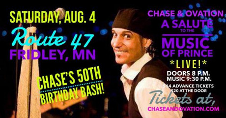 Chase's 50th Birthday Bash! with THEE Salute to the Music of PRINCE!