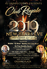 Club Royale 2019 New Years Eve