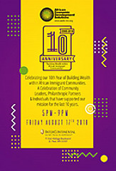 AEDS 10th Anniversary Dinner & Celebration