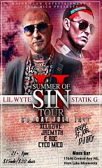 Lil Wyte & Statik G Summer Of Sin 2 Tour