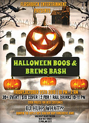 Halloween Boos & Brews Bash