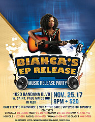 Bianca's Music Release Party