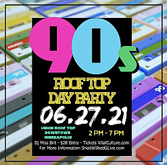 90's Roof Top Day Party