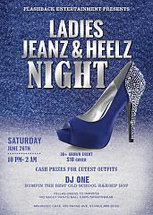 Ladies Jeanz & Heelz Night