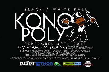 Konoply Black And White Ball