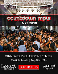 COUNTDOWN MPLS (New Years Eve 2018 Party)