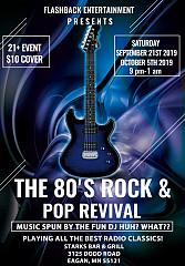 The 80's Rock & Pop Revival