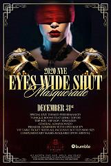 Eyes Wide Shut Masquerade NYE 2020