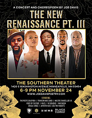 The New Renaissance Pt. III: A Concert and Choreopoem by Joe Davis
