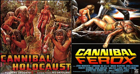 Cannibal Holocaust &Cannibal Ferox 35mm double feature